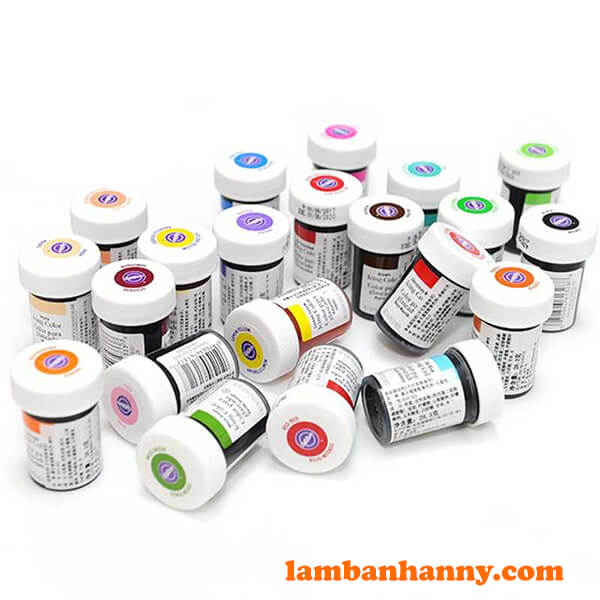 Anny Shop đa dạng với các loại màu thực phẩm Wilton chất lượng này