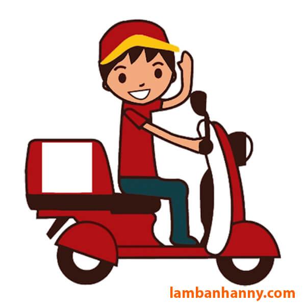 Anny có dịch vụ giao hàng trên nội thành Đà Nẵng và toàn quốc