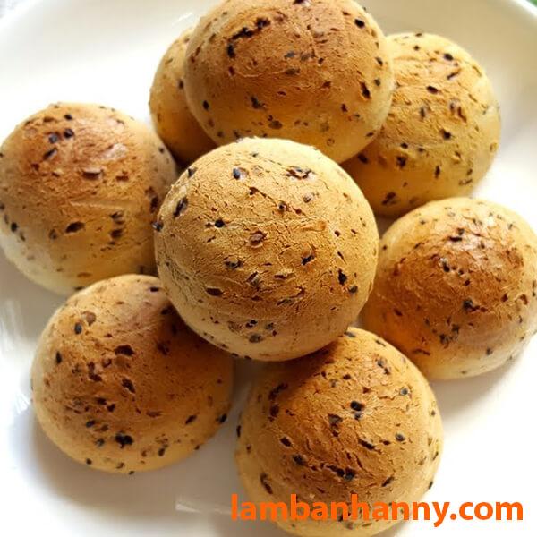 Bánh mì Hàn Quốc giòn rụm