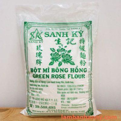 Bột mì bông hồng xanh sanh ký 1kg