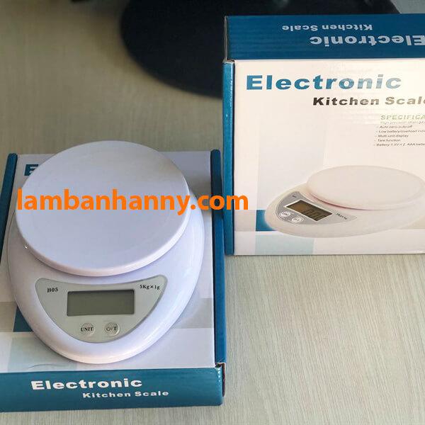 Cân điện tử làm bánh Electronic Kitchen Scale B05