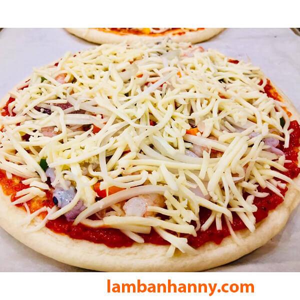 Combo đế bánh Pizza và phô mai