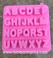 Khuôn bánh silicon bảng chữ cái