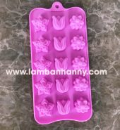 Khuôn bánh silicon hình hoa size vừa