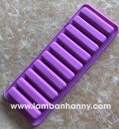Khuôn bánh silicon kẹo mút hình que