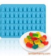 Khuôn silicon Chip Chip hình gấu