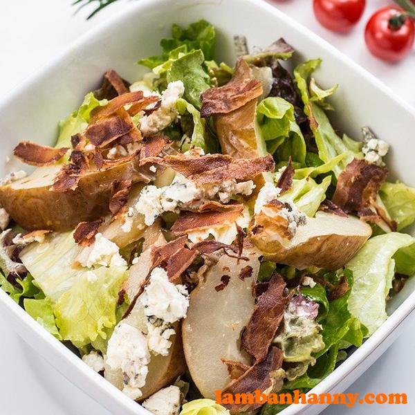 Lá thơm Basil trong các món salad