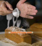 Rây bột làm bánh mini