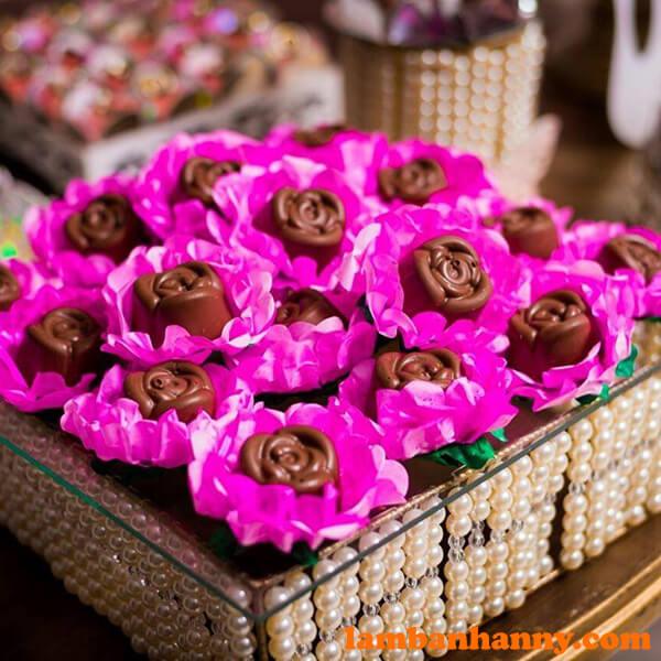 Socola hoa hồng