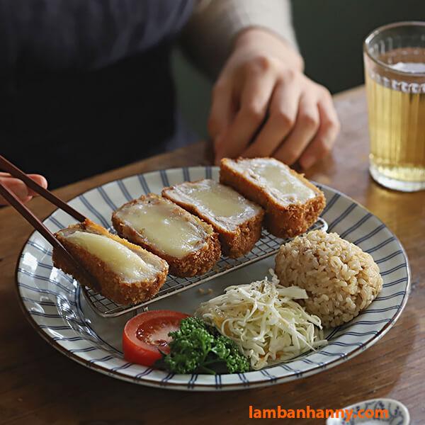Thịt lợn cuộn phô mai
