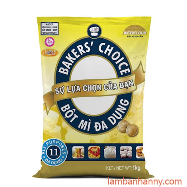 bột mì baker's choice số 11