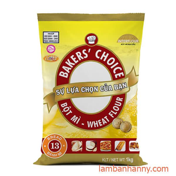bột mì baker's choice số 13