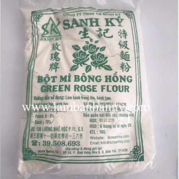 Bột mỳ bông hồng xanh sanh ký 1kg