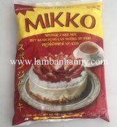 Bột trộn sẵn bánh bông lan Mikko 1kg