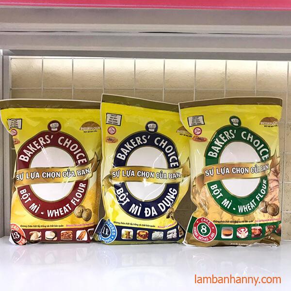 các loại bột mì baker choice