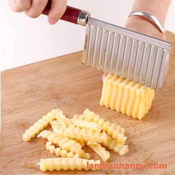 cắt các loại rau củ