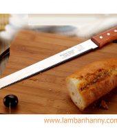 Dao cắt bánh cán gỗ 12inch
