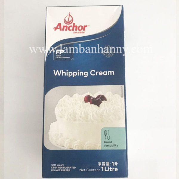 Kem tươi Whipping Cream Anchor 1l
