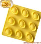 Khuôn silicon hình thỏi vàng 9 ô