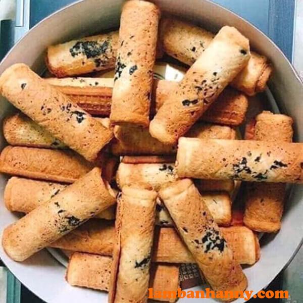 Bánh quế cuộn Hàn Quốc