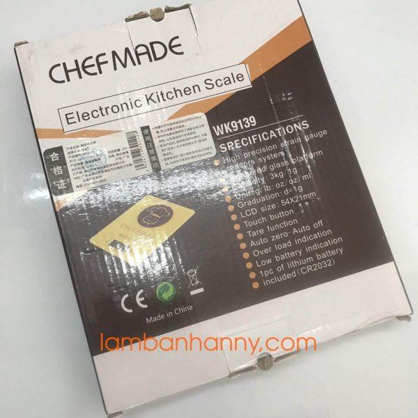 Cân điện tử Wk9139 Chef Made