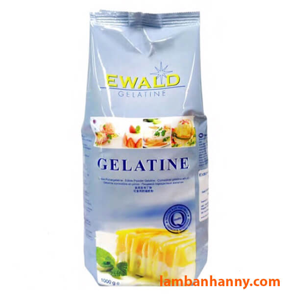 Gelatin bột Ewald gói 1kg