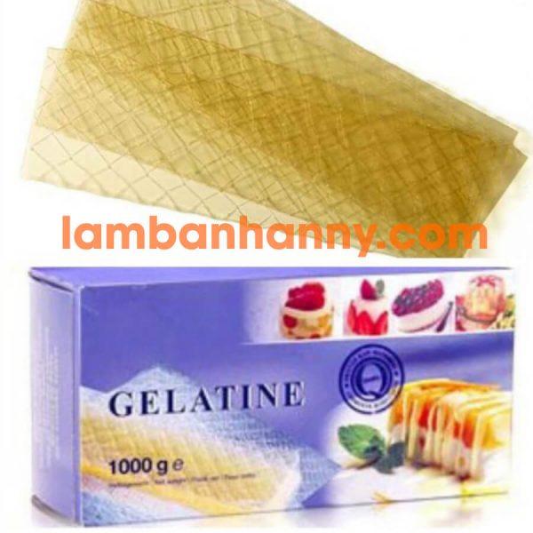 Hộp Gelatin lá 1kg