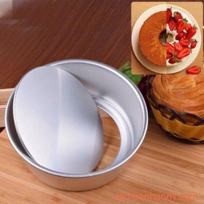 Khuôn làm bánh tròn đế rời 12-22cm 2