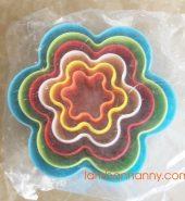 Khuôn nhấn bánh quy hình hoa