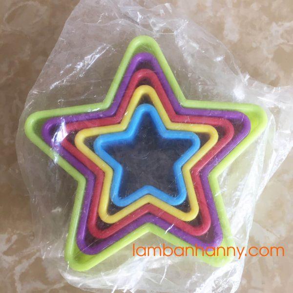 Khuôn nhấn bánh quy hình ngôi sao