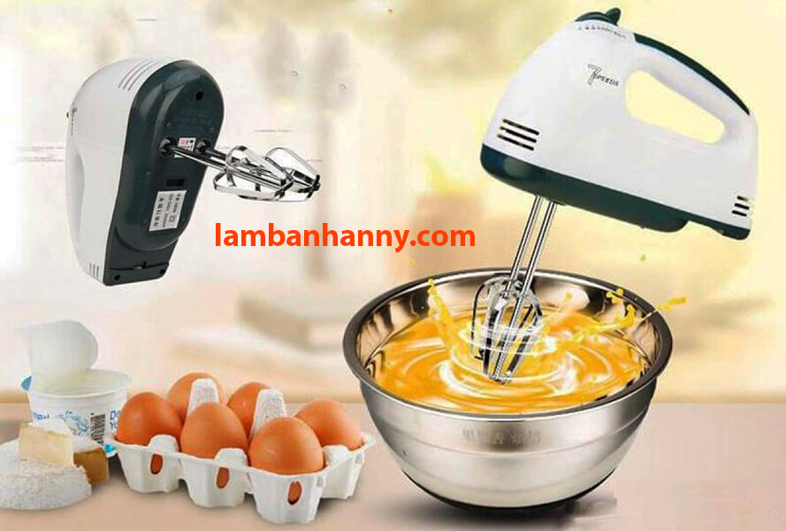 Máy đánh bông trứng vô cùng tiện lợi