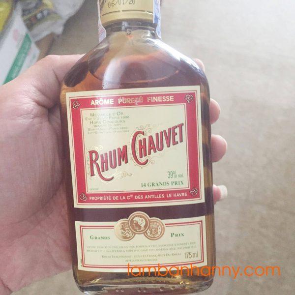 Rượu Rhum Chauvet 175ml