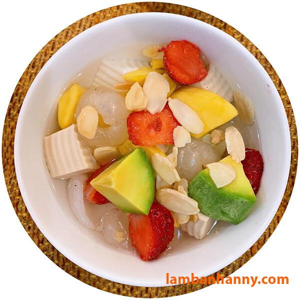 Thạch khúc bạch cũng được sử dụng gelatin