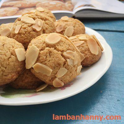 bánh quy bơ hạnh nhân lát