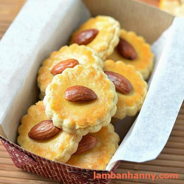bánh quy hạnh nhân giòn thơm