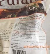 Bột trộn sẵn bánh mì lúa mạch đen Dark Dry Puratos 1kg