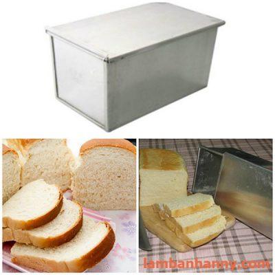 khuôn nhôm làm bánh mì gối 4