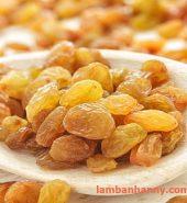 Nho vàng khô trái tròn Ấn Độ 200g-500g-1kg