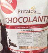 Socola đen nguyên chất paturos 58%