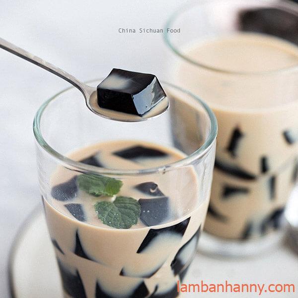 trà sữa thạch sương sáo
