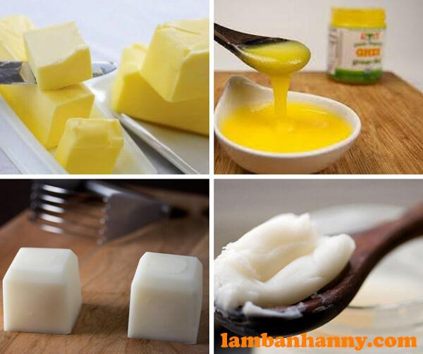 Được sử dụng để thay thế cho bơ, dầu ăn trong nhiều loại bánh