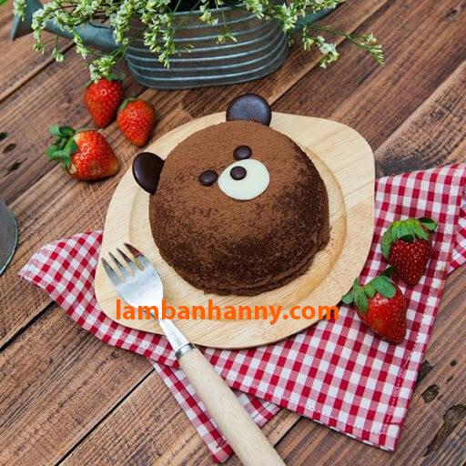 Bánh gấu socola