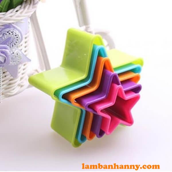 Bộ cutter nhựa hình ngôi sao