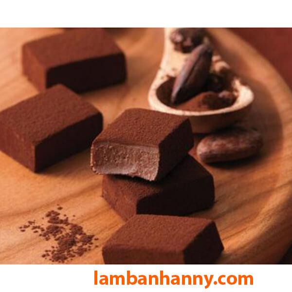 Nama Chocolate làm từ Socola đen nguyên chất