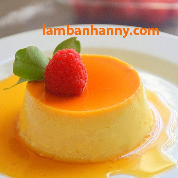 Sữa đặc được dùng trong món bánh Flan