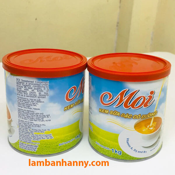 Sữa đặc Moi của Malaysia