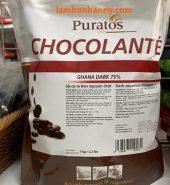 Socola đen nguyên chất paturos 75%