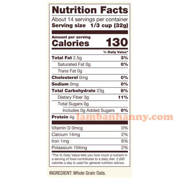 Thành phần dinh dưỡng của một khẩu phần ăn