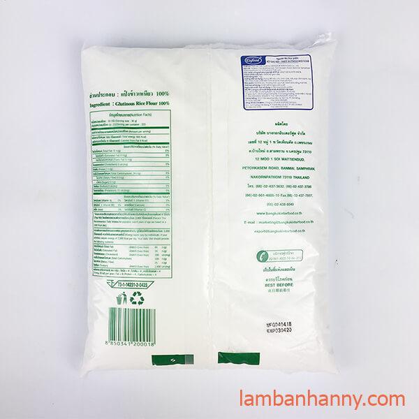 bột nếp thái lan 1kg