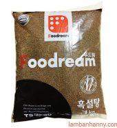 Đường đen Hàn Quốc Foodream 1kg